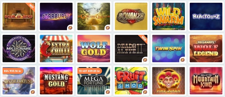 Live casino free spins